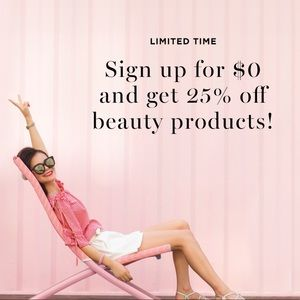 Sign up with Avon for free and get 25%